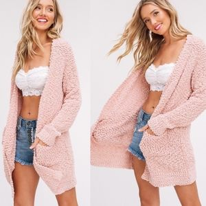 SKYLAR Softest Breathable Cardigan BLUSH